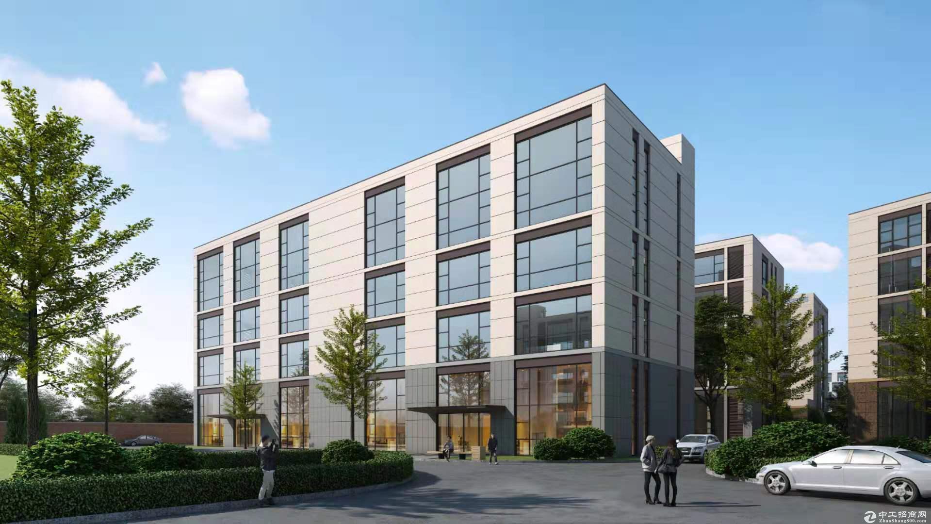出售燕郊正规厂房独栋,联排,300平米起售-图3