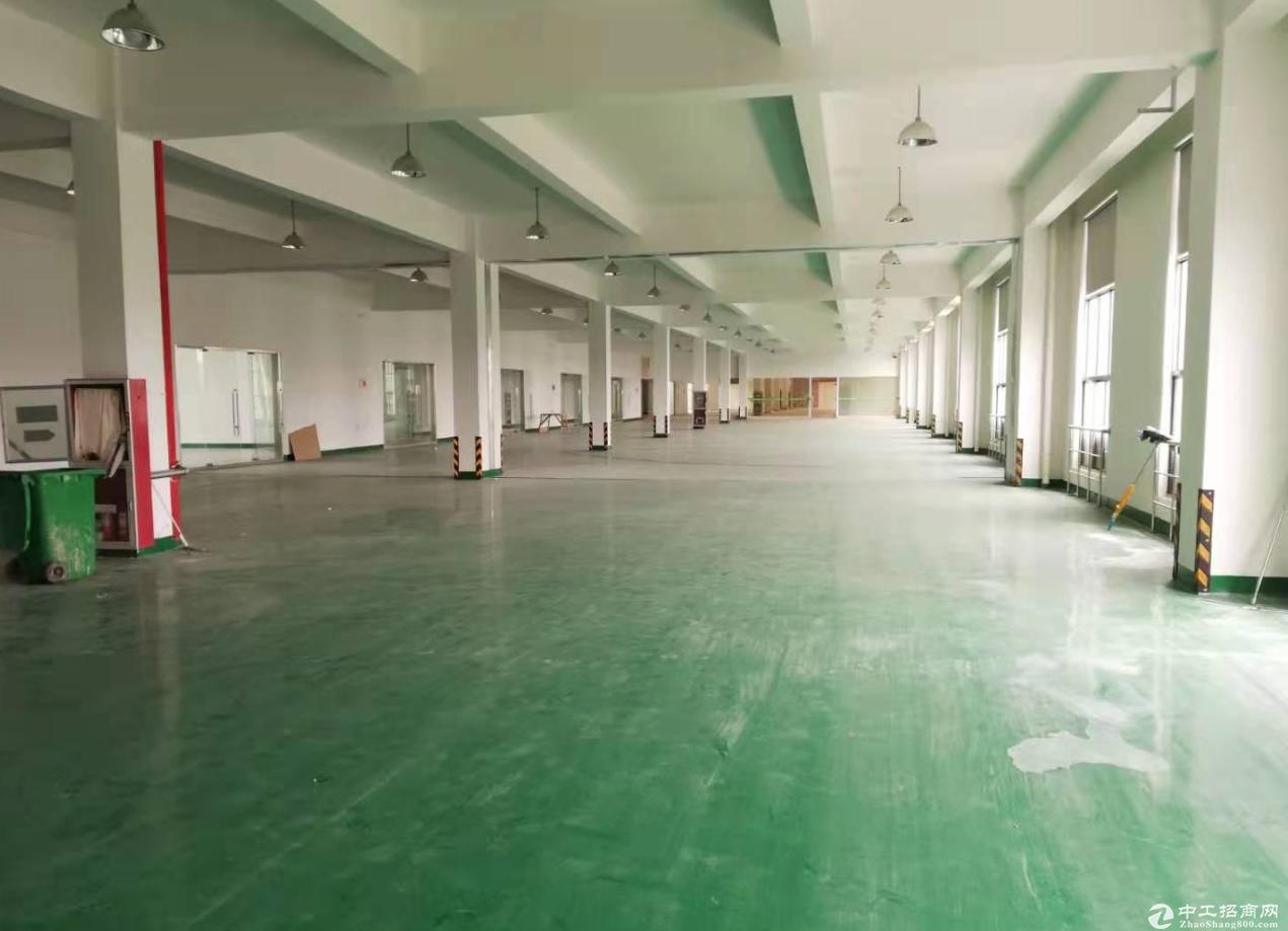 东升裕民二楼500平厂房仓库 环氧地坪大货梯进出方便