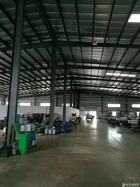 江海高新区外海工业区单一层2600方出租 形象好可分租