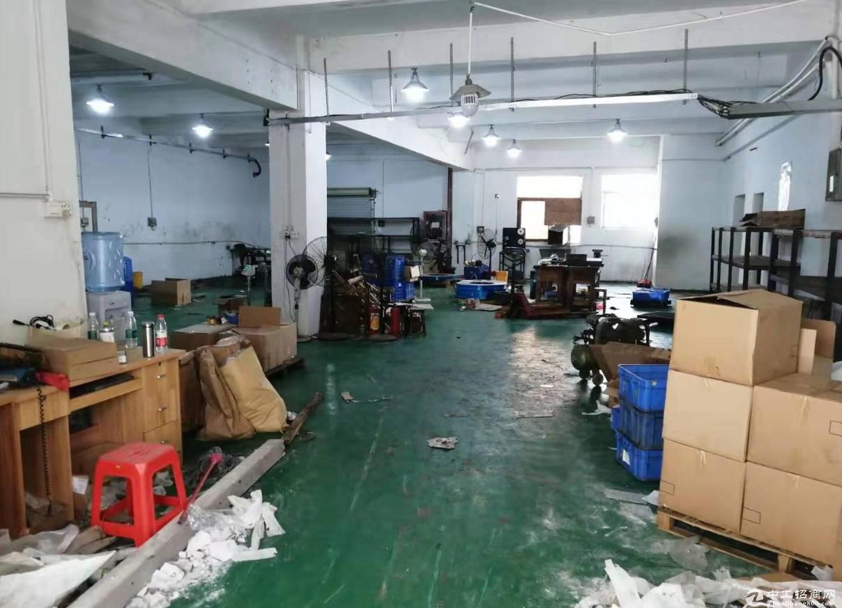 民众工业区原房东楼上标准500方精装修厂房
