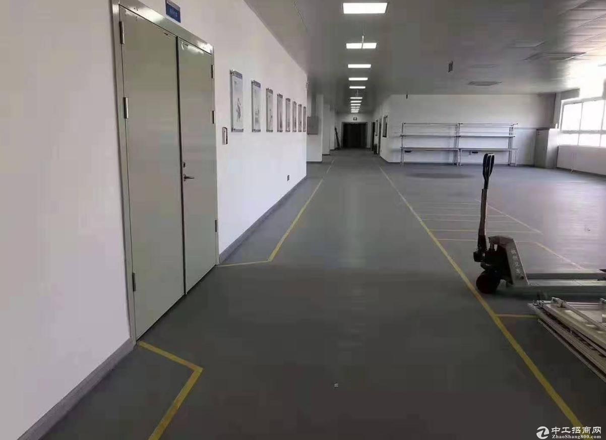 群富工业区三楼700方精装修办公厂房,水电齐全,可环评