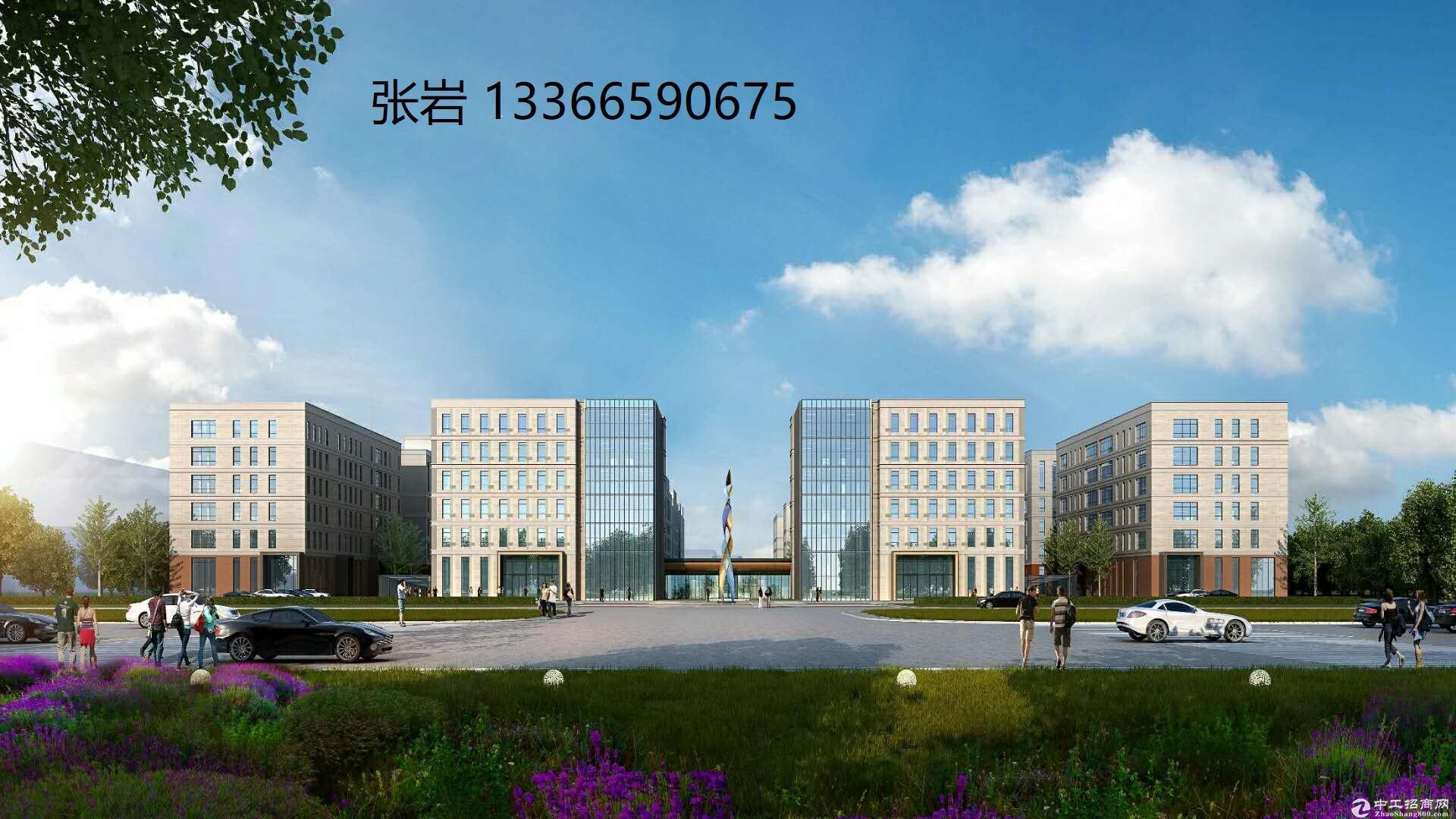 隆达智汇PARK科技产业园正规办公楼独栋6400平,可分割出售-图3
