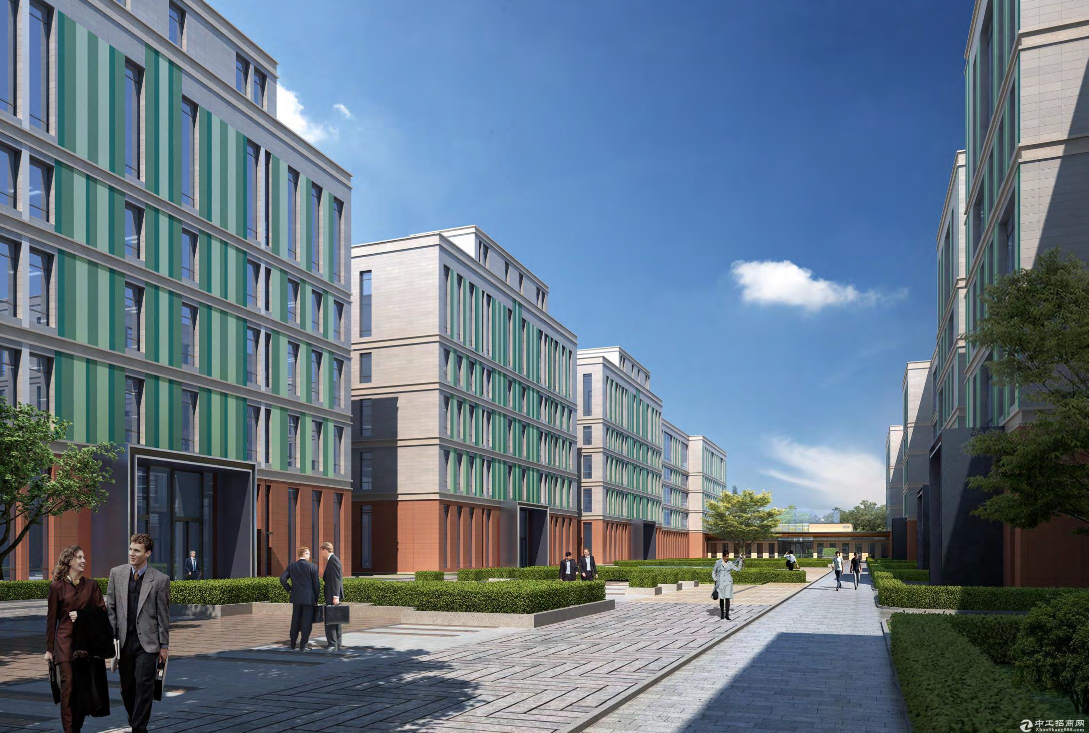 开发商直招,燕郊裕泰产业园独栋出售,单层330平米起售