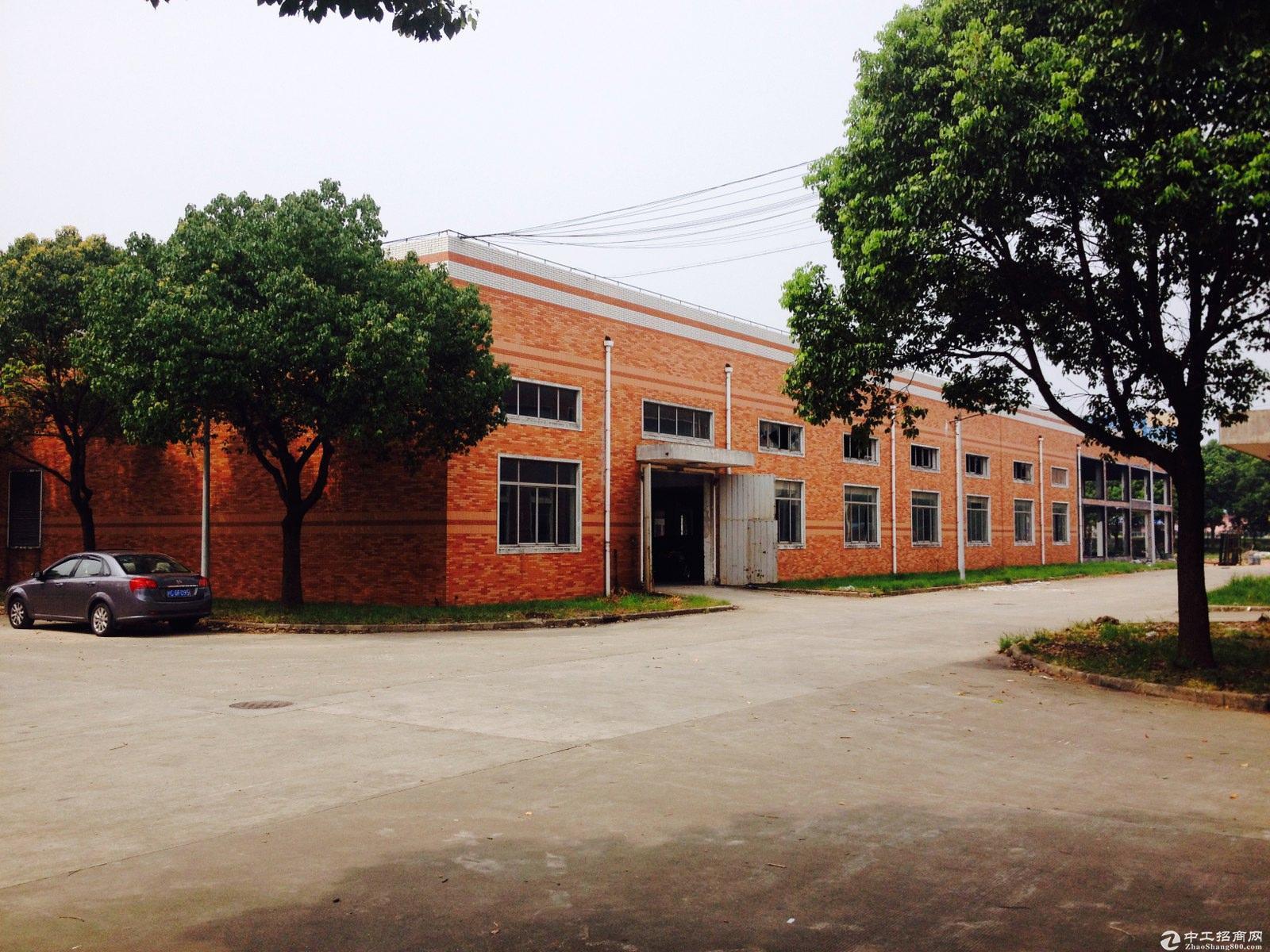青浦崧泽大道104板块绿证24亩独院厂房出售