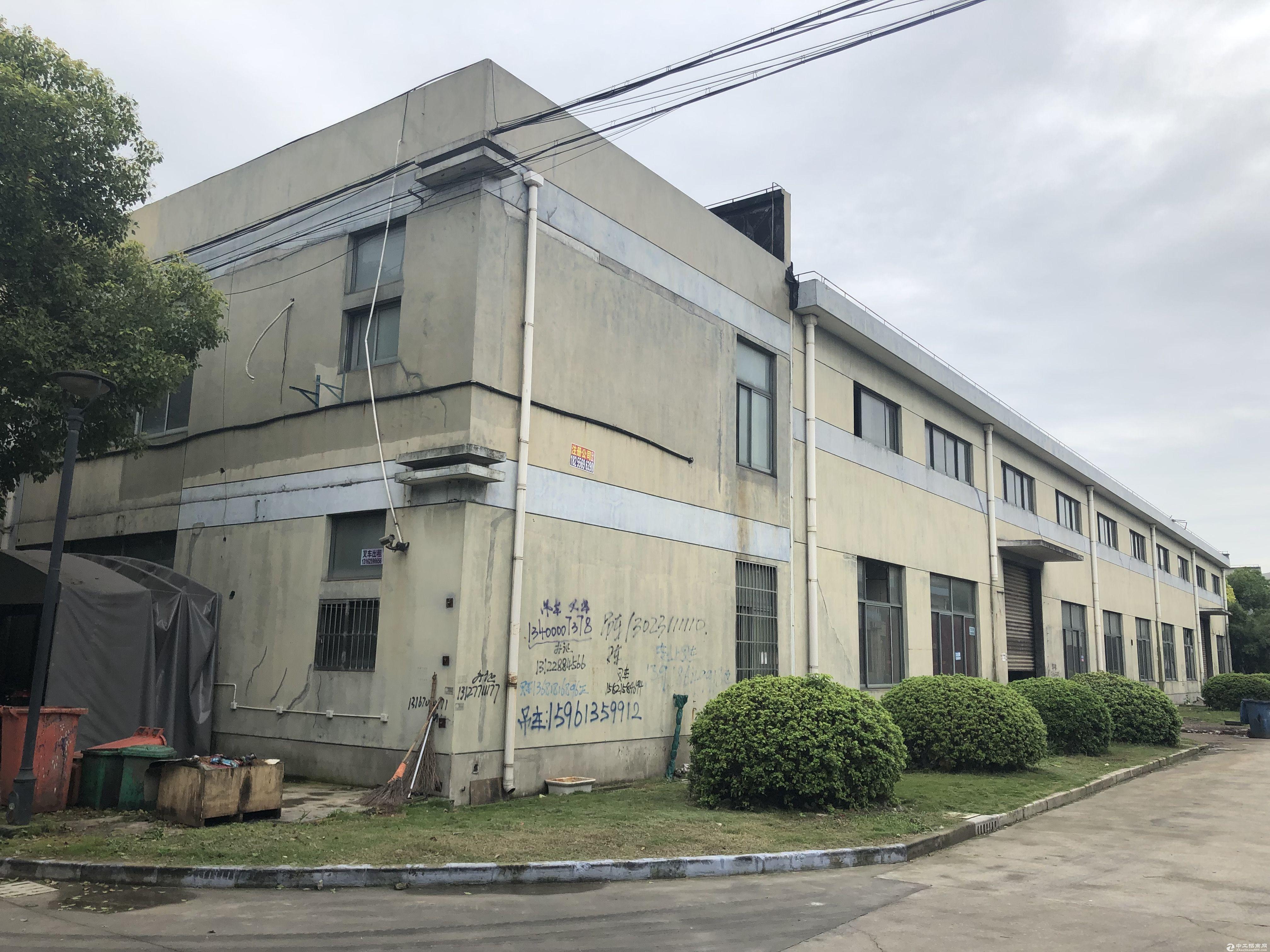 青浦香花桥崧泽大道力惠工业园区厂房原房东