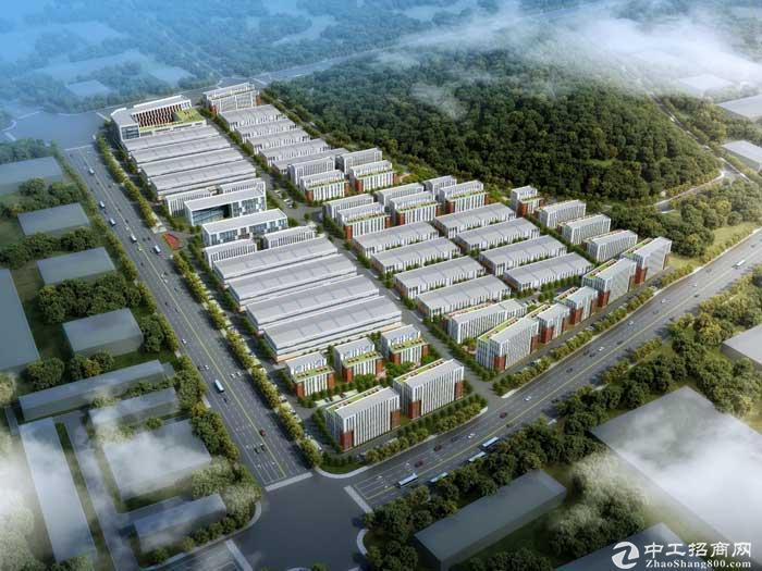 马鞍山雨山区中欧国际产业园710到6000平高标厂房-图2