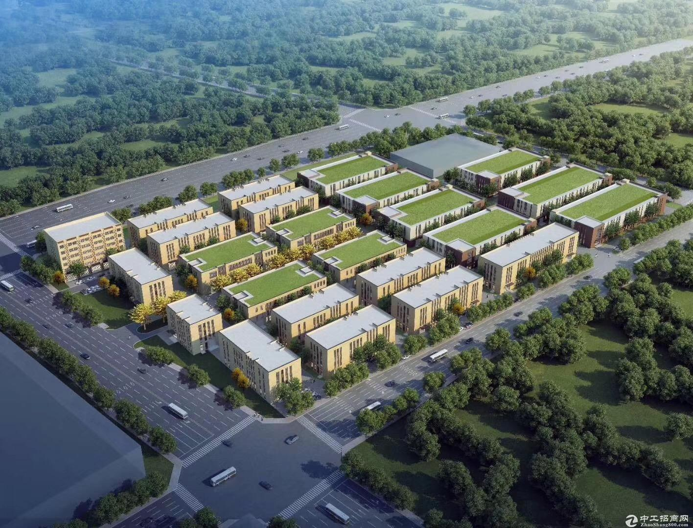 大产权、可环评、7.8米层高 独栋工业厂房