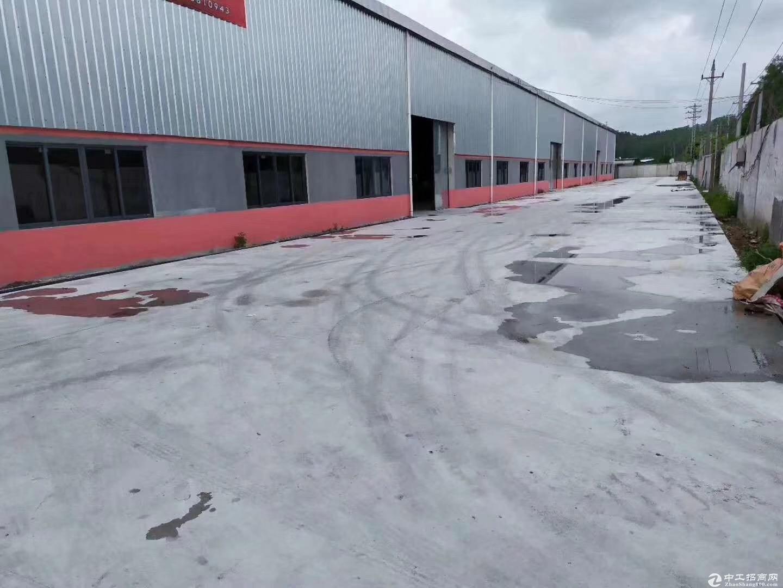 新会区新出独院单一层钢结构厂房4560方出租 电按需带行车