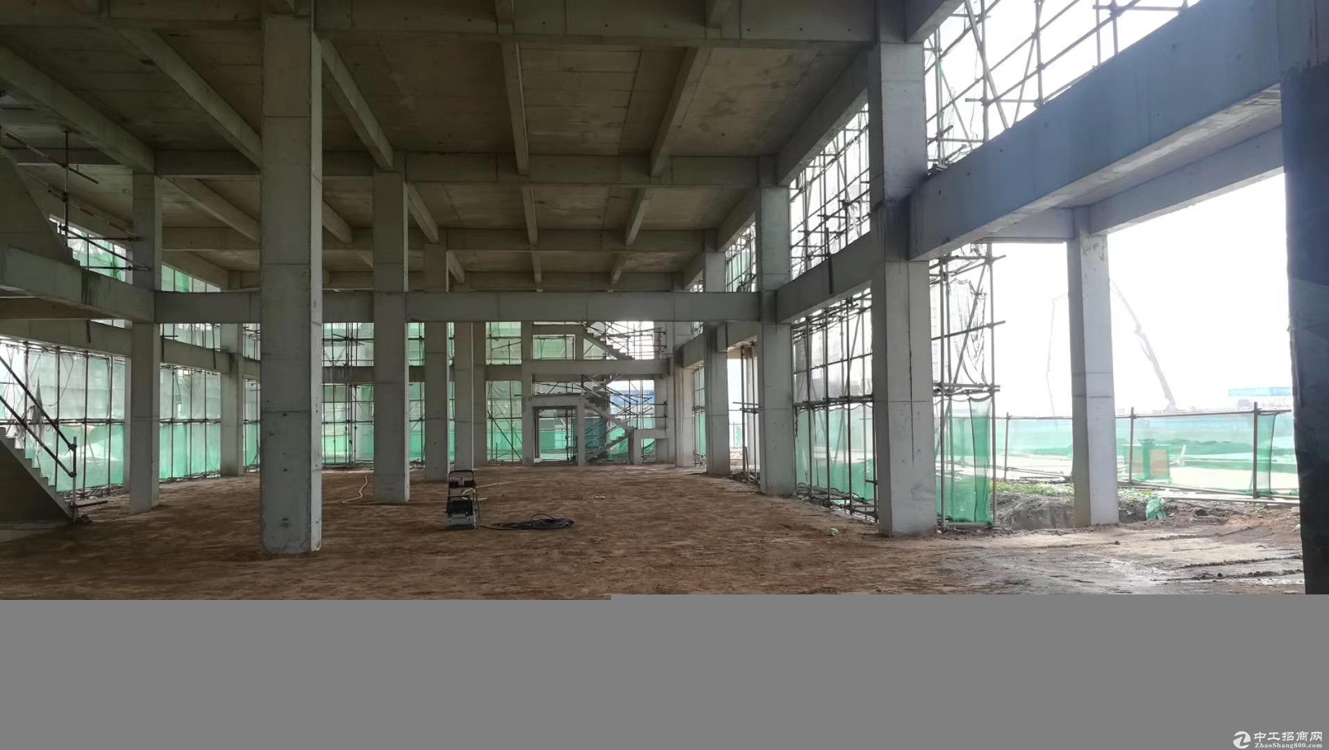 郑州荥阳 G310国道与庙王路交汇处3000㎡ 厂房出售层高7.8米 可环评