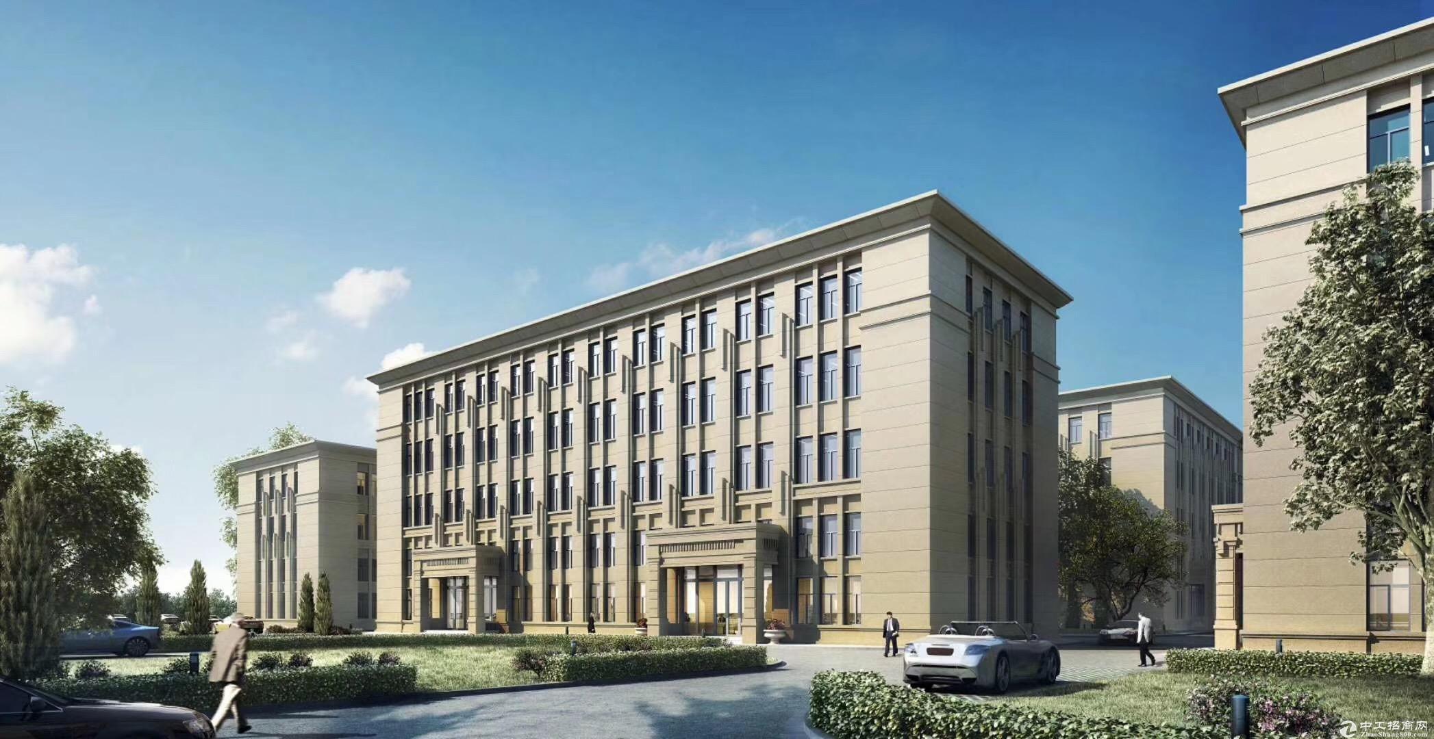 高新区 全新独栋厂房1600㎡ 层高7.2米 可环评