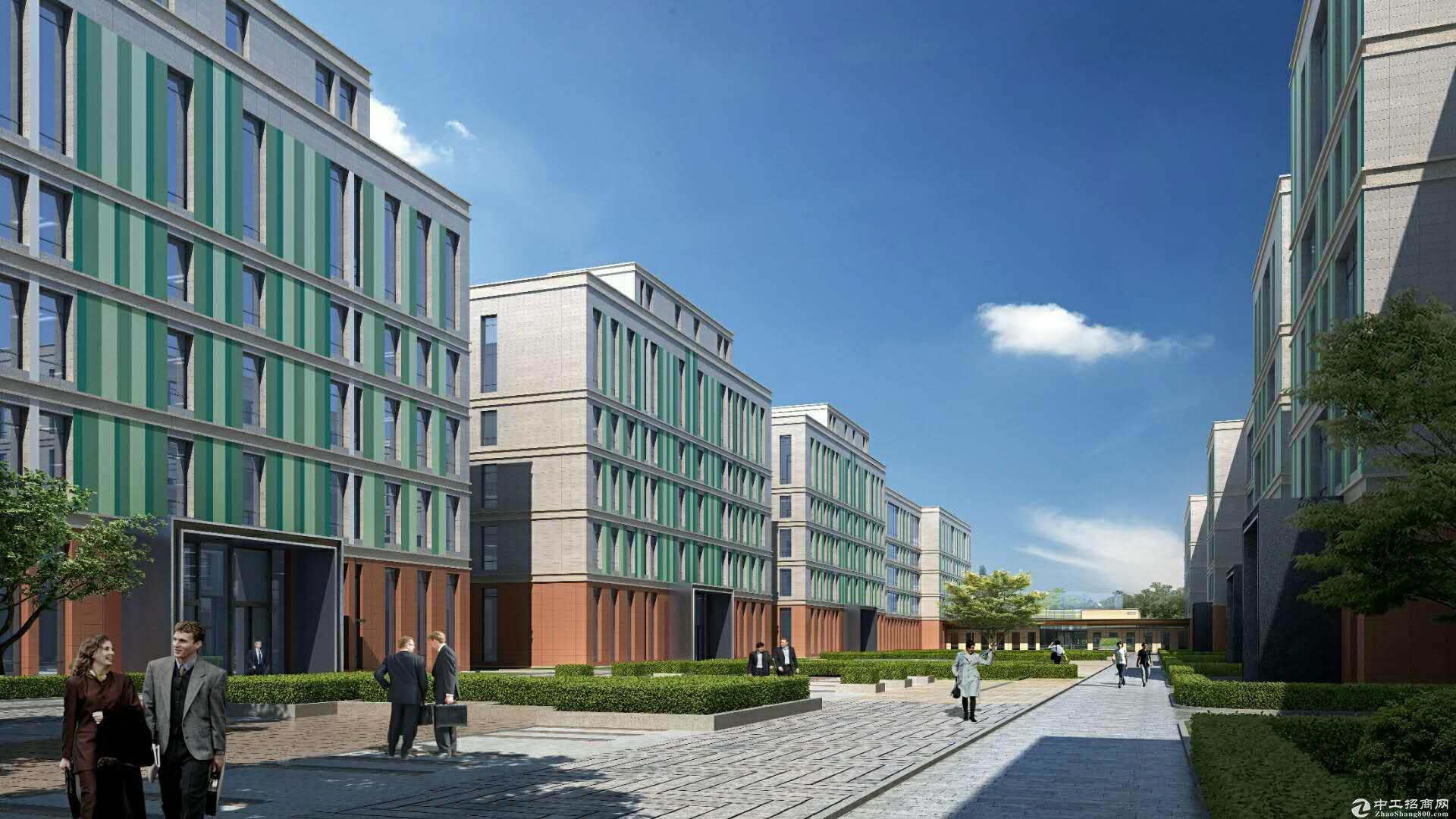 售)燕郊500厂房,办公研发楼。可环评裕泰园区图片1