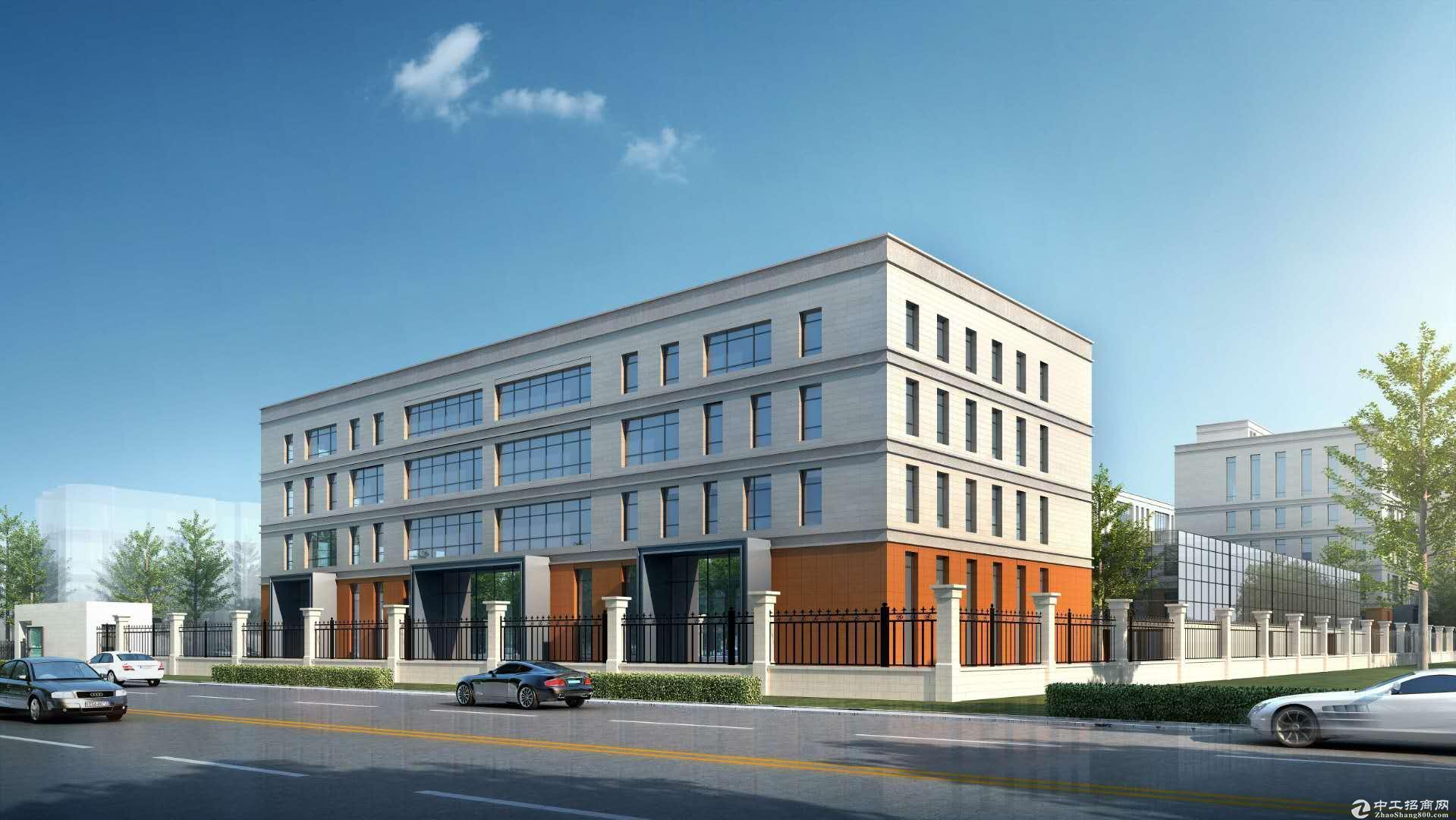 售)燕郊500厂房,办公研发楼。可环评裕泰园区