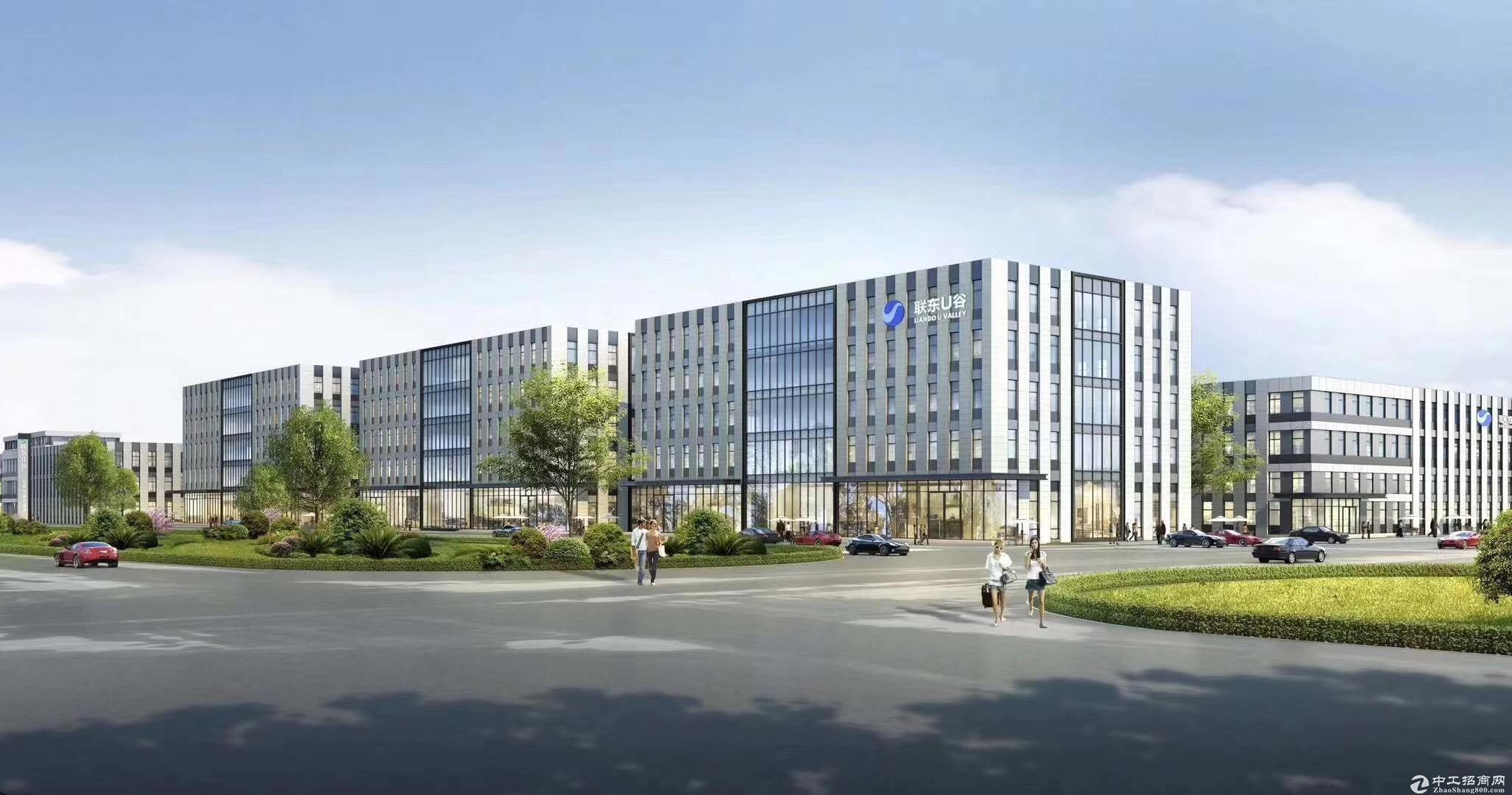 高新区全新独栋厂房1600㎡层高7.2米可环评