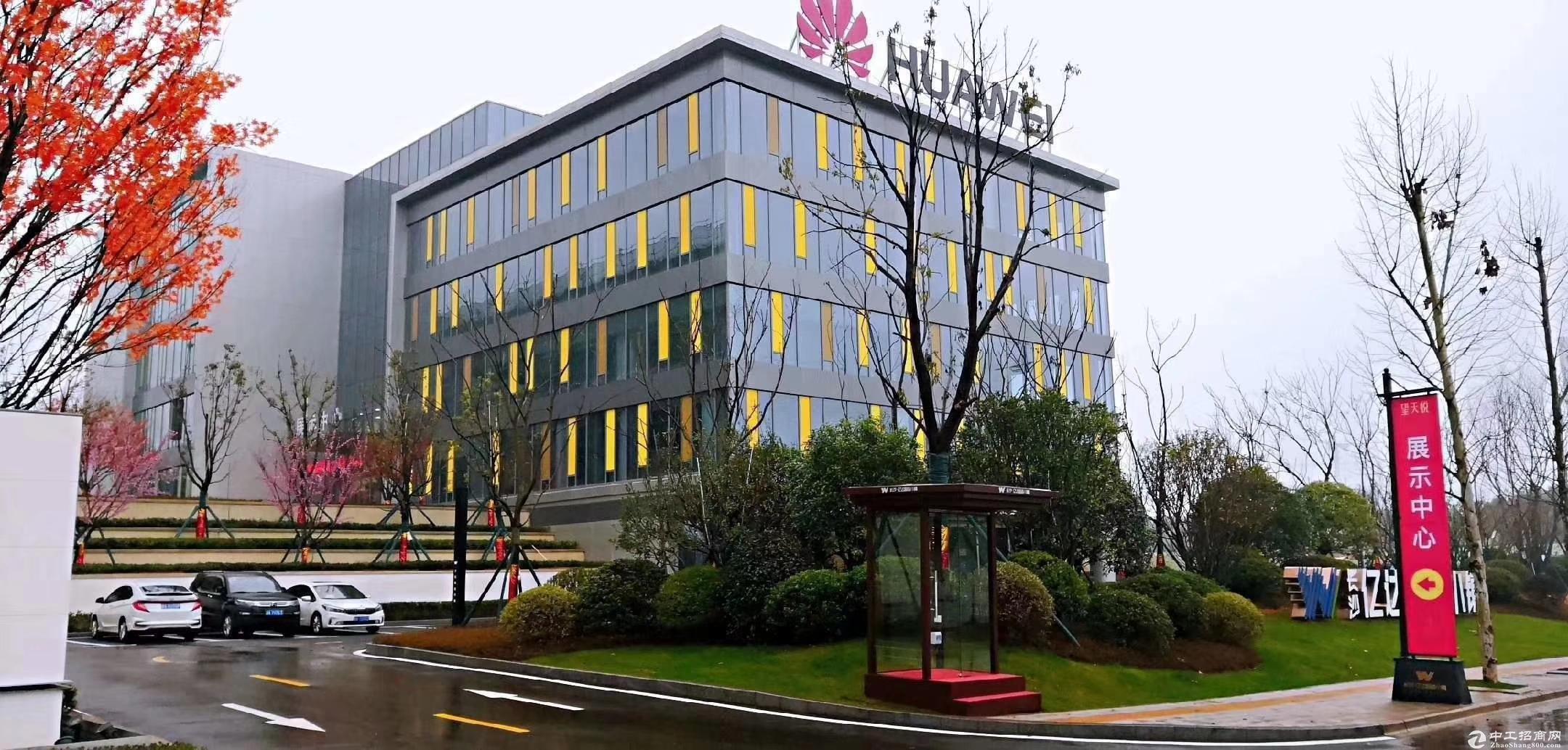 长沙智造产业特色小镇,1500平带院子独栋厂房,首层7.8米