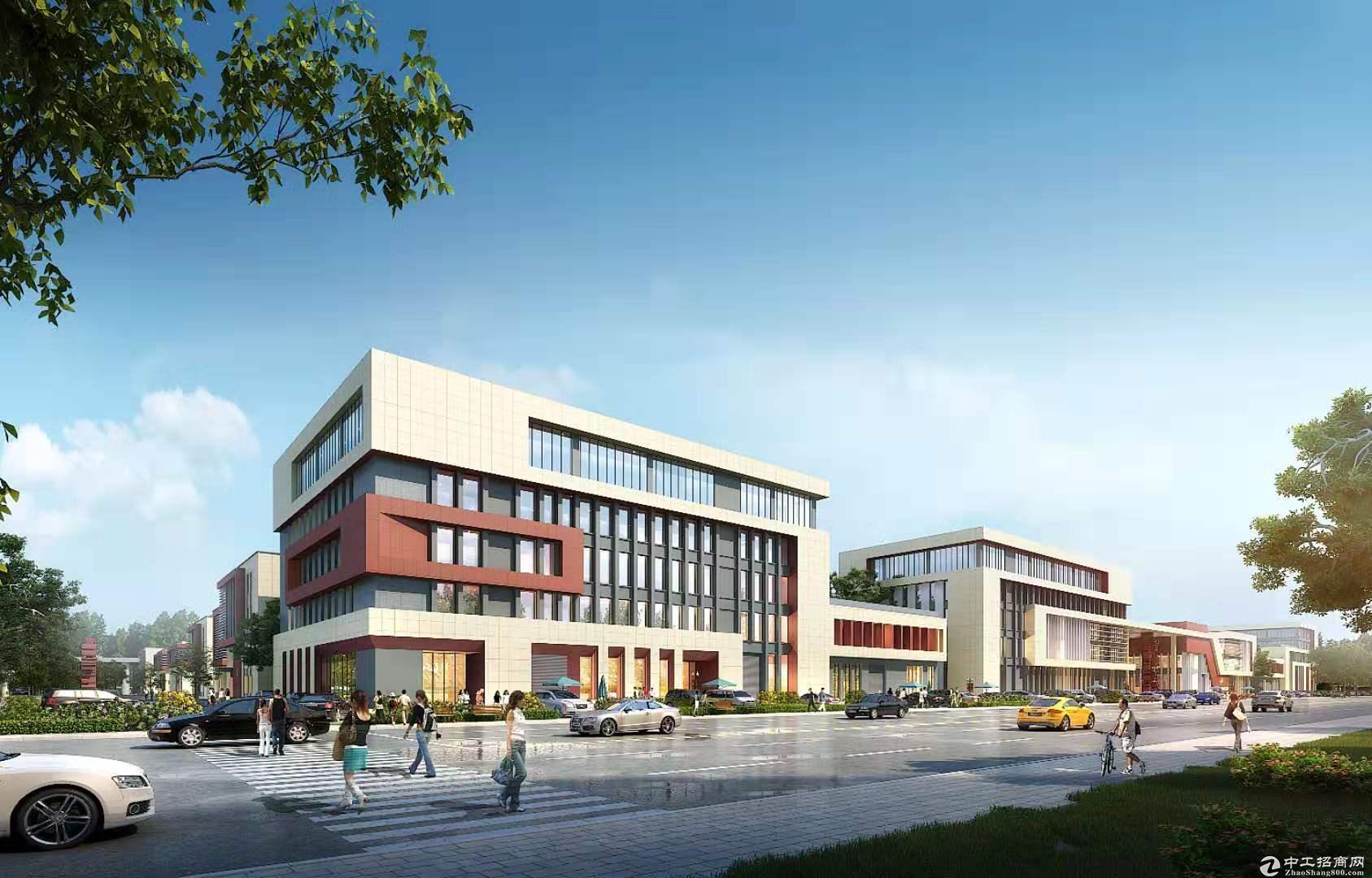 独栋新厂两层、三层厂房出租,交通便利、政策利好