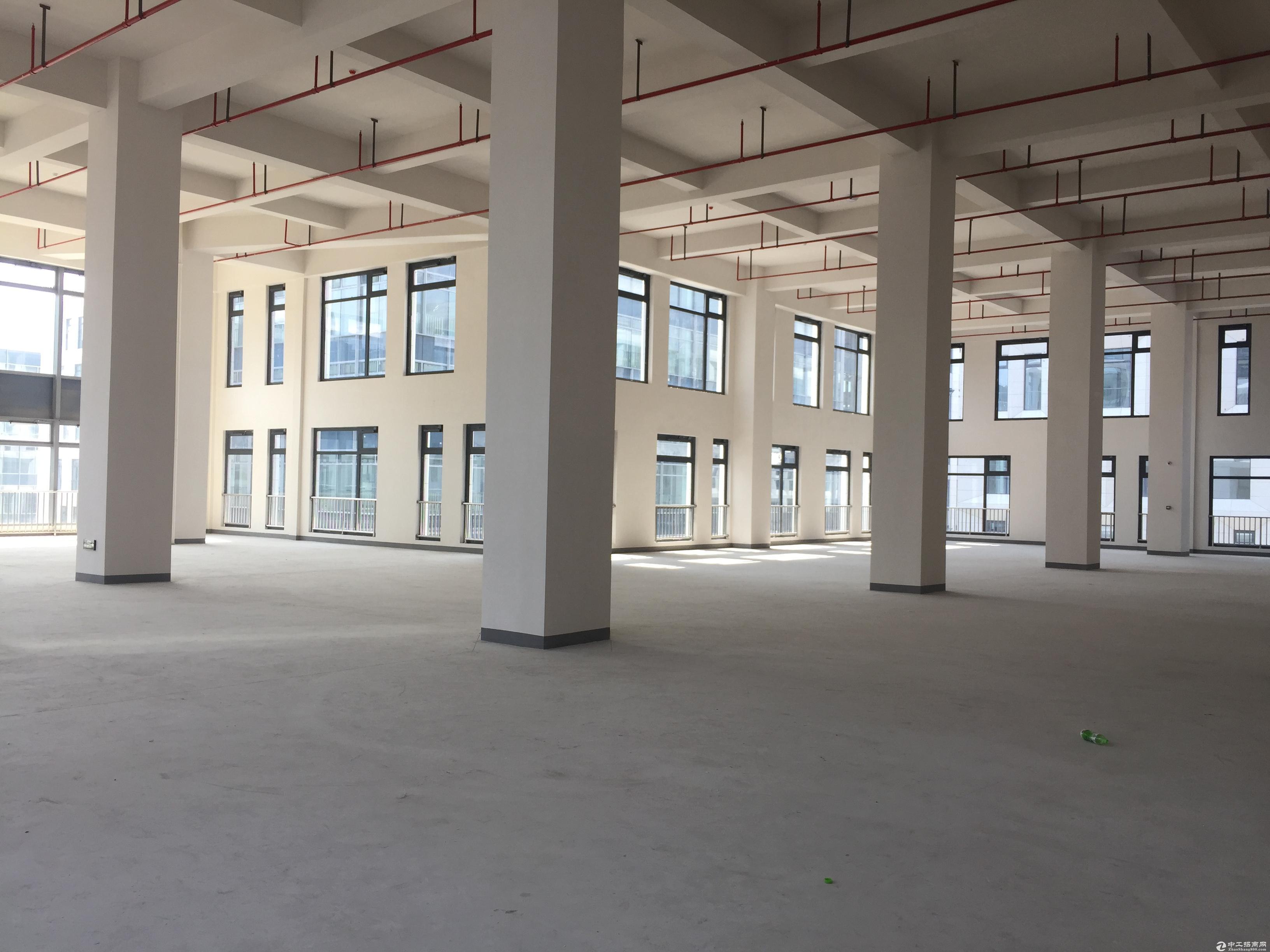 健康产业招商!新建园区,可生产,研发,办公,多面积段自由分割