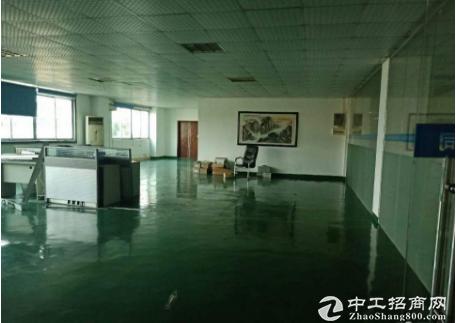 东莞茶山工业园出租1楼500平精装修厂房全新地坪漆