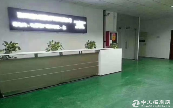 东莞茶山寒溪水工业园1楼300平厂房带装修出租