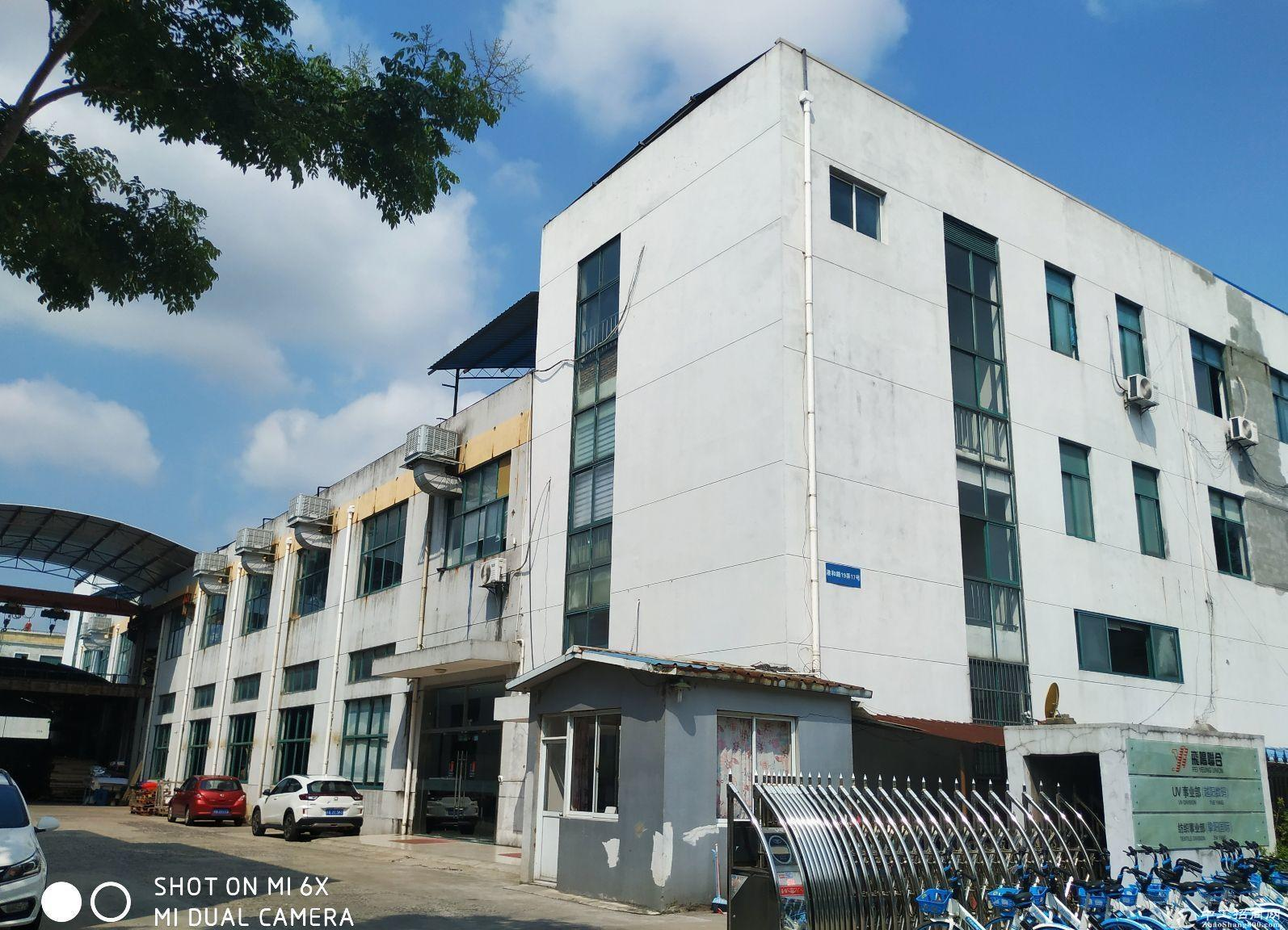 104地块奉贤西渡厂房2430平租金1.1元一楼全单层-图2