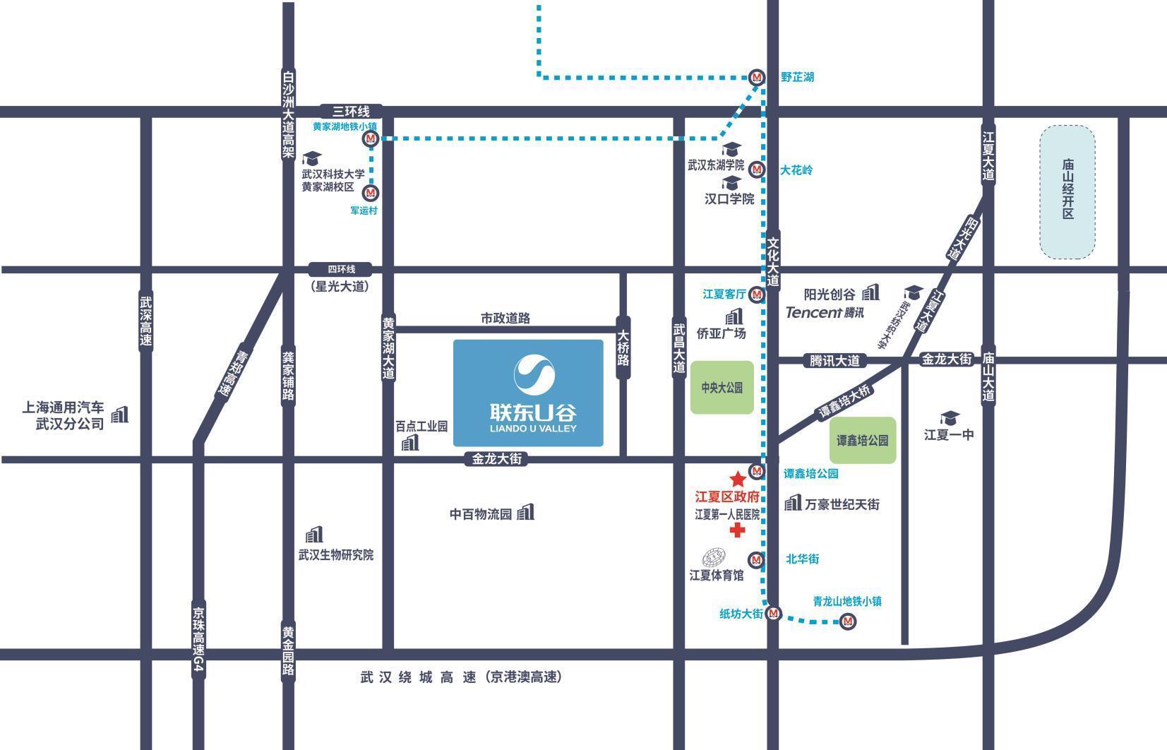 联东江夏大桥新区产业园