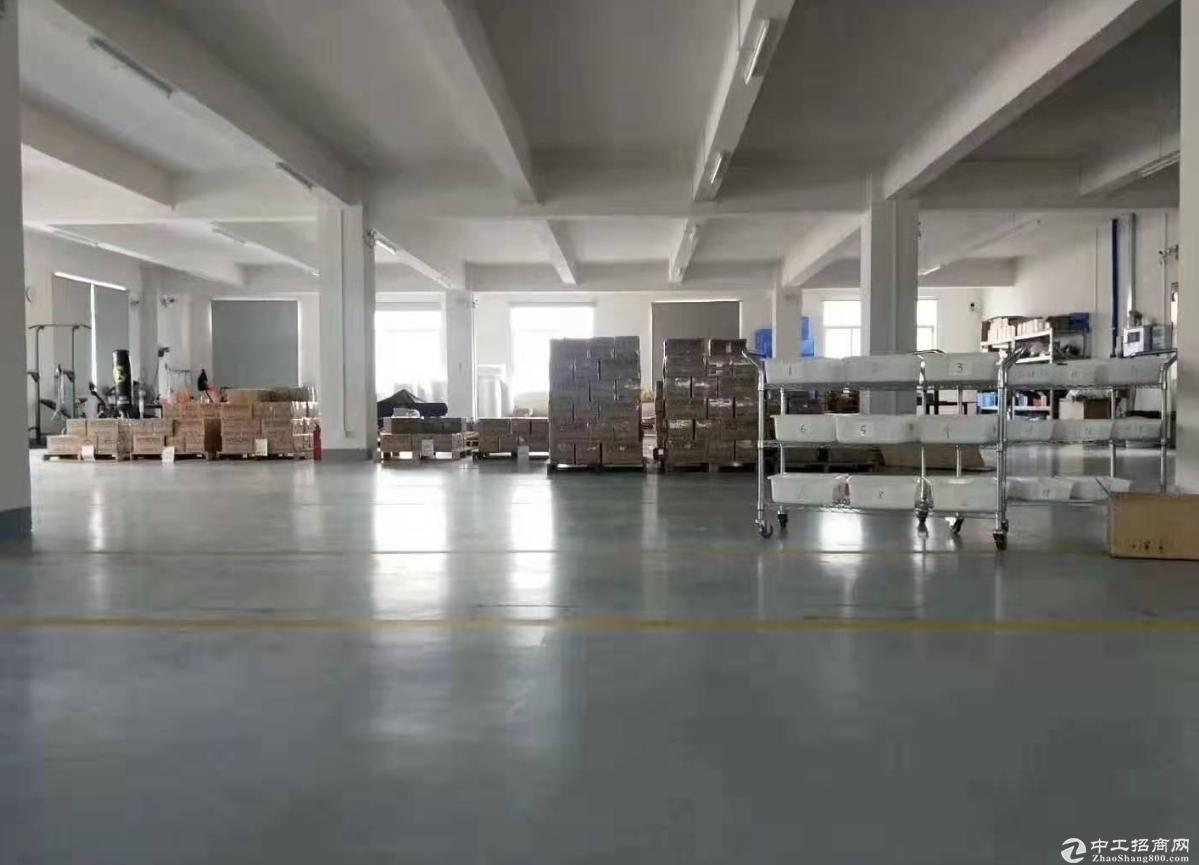 群富工业区附近一楼1100方标准厂房出租,可分租