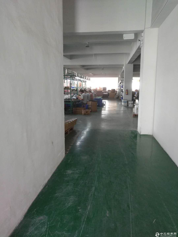 高新工业区标准厂房楼上1500方出租 形象靓带装修现成办公室