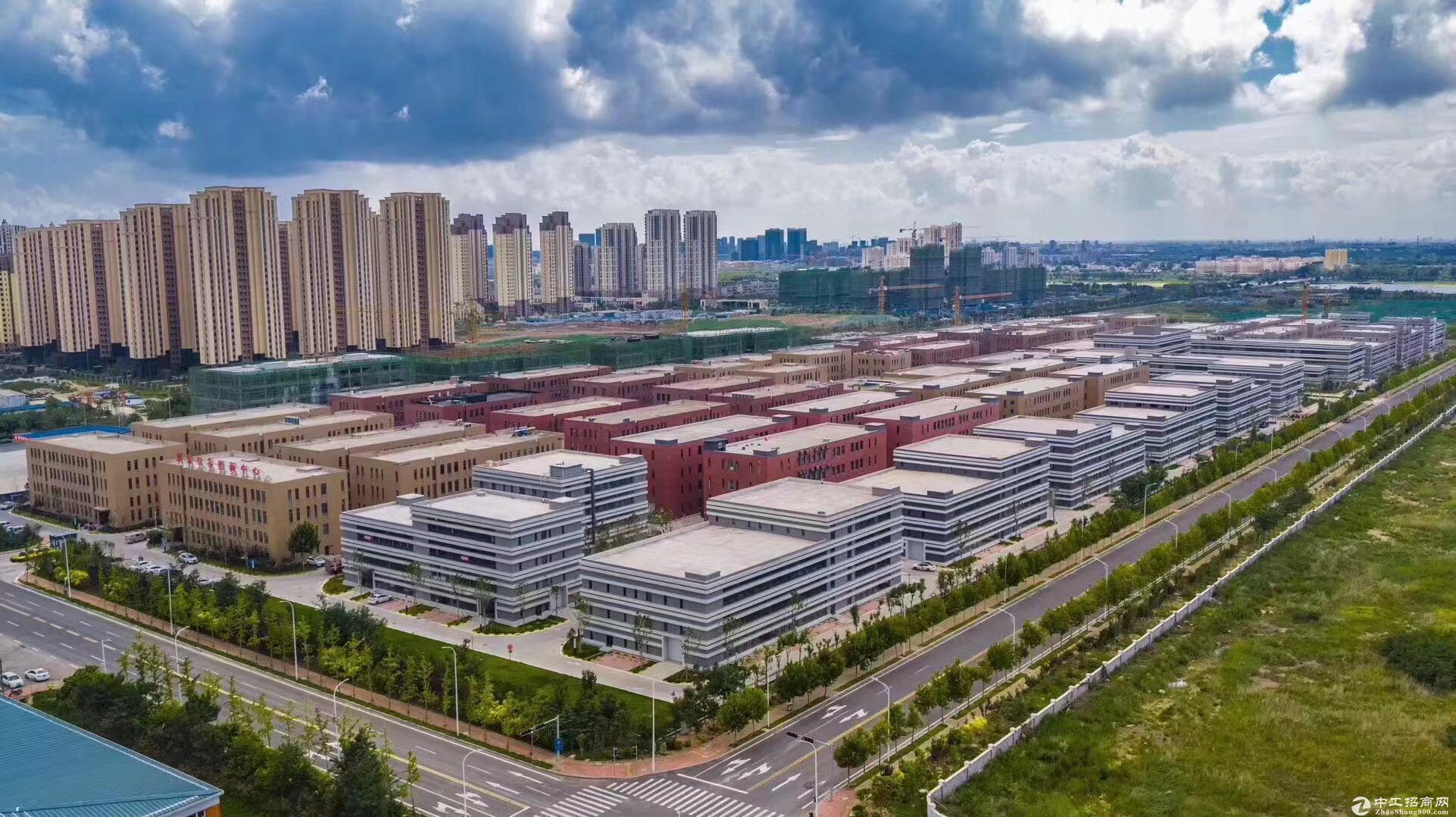 胶州产业新区新建标准生产办公厂房 首层7.2米 可贷款手续全