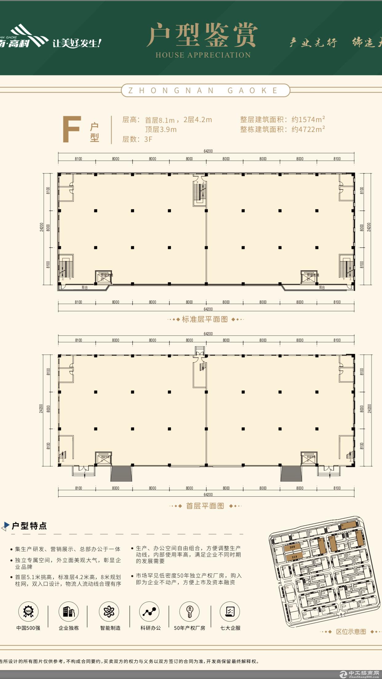 出售·全新50年独立产权标准厂房·2成首付.-图4