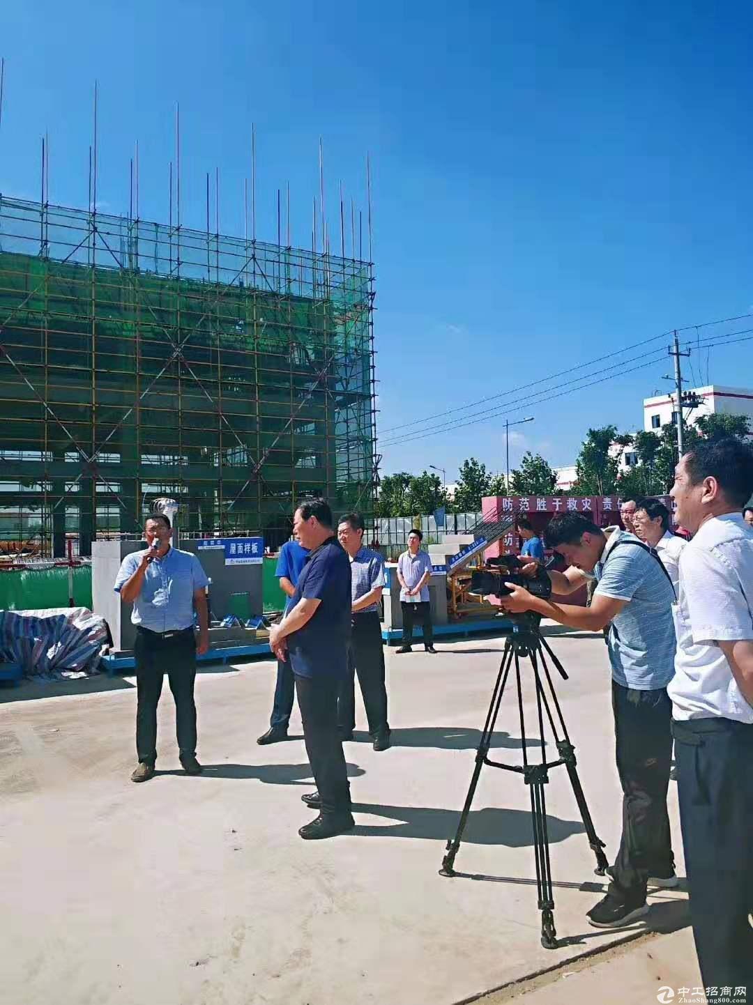 胶州标准厂房水电管网齐全火爆招商中