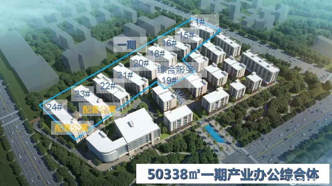 燕郊厂房 300平米起 送屋顶花园 可贷款 7.2米层高
