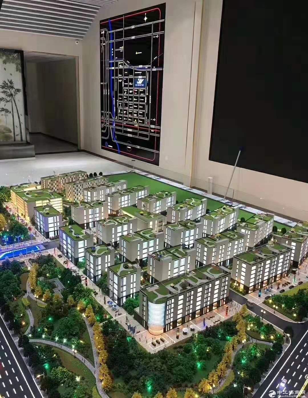 燕郊厂房出售300平起送屋顶花园7.2米层高可打夹层-图3