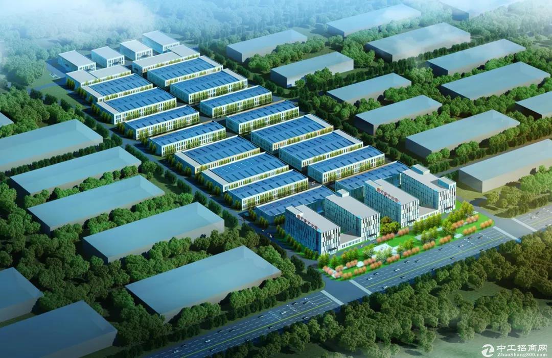 绿天使(莱西)高新技术产业园1000-3000㎡三层框架结构厂办一体