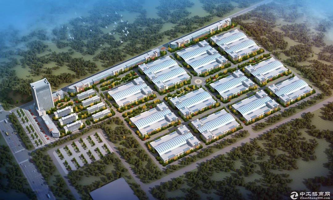 济宁市1000-5000㎡单层钢结构厂房加三层办公结合