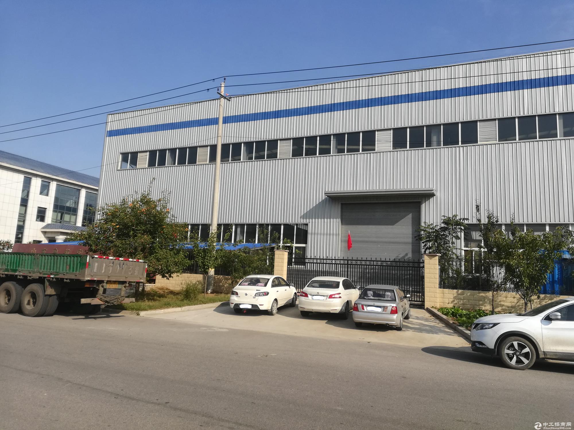 出租长清平安工业园附近厂房1500平,带行车-图2
