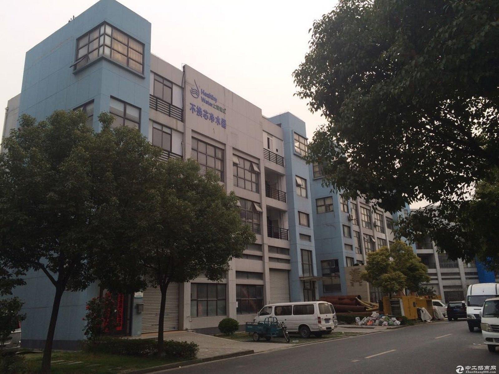 园区独栋四层绿证642平可研发办公仓储累独栋工业性质厂房出售