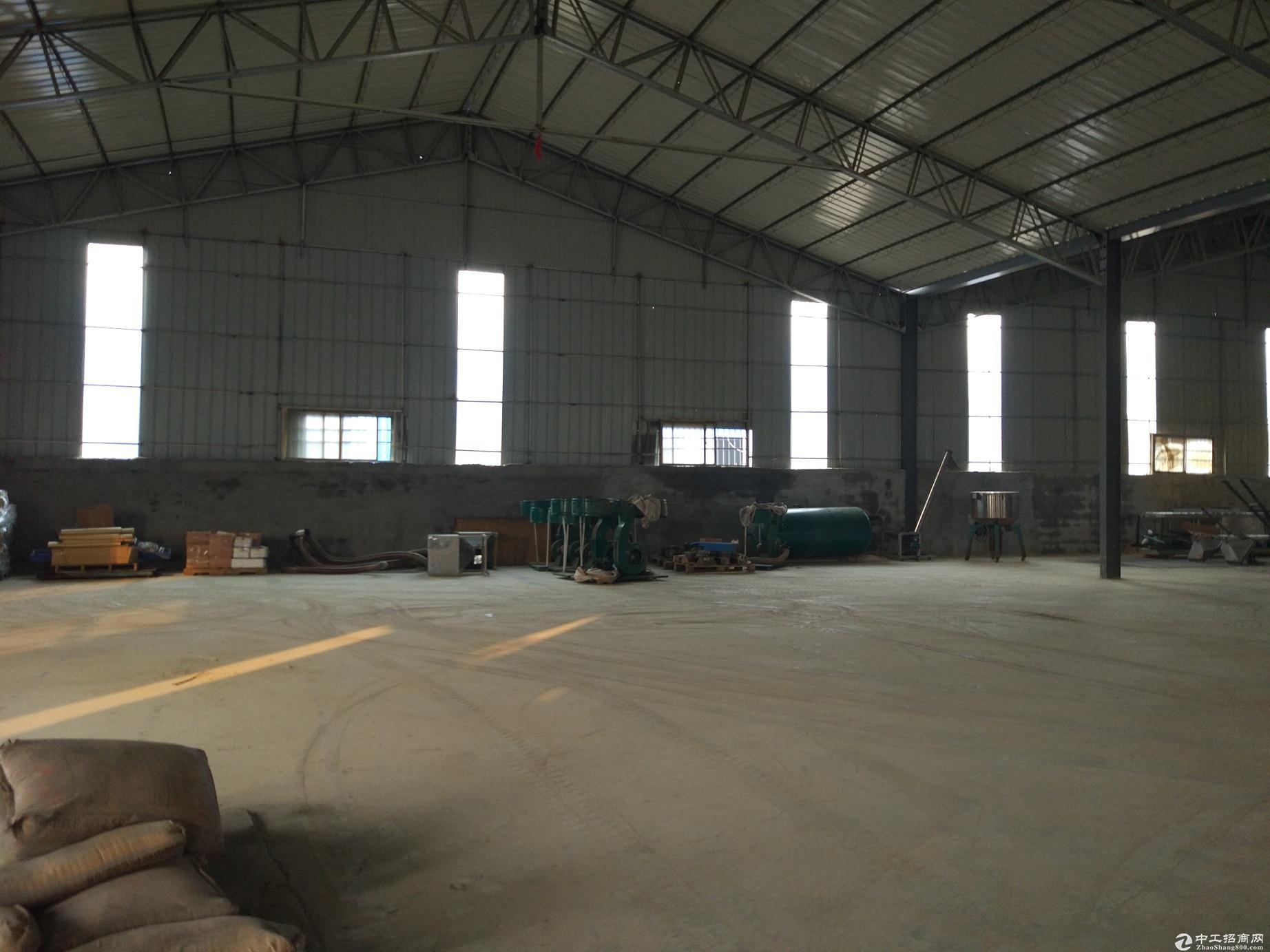 兰山区3000平米标准钢结构厂房出租