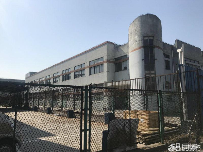 (出售) 青浦可独院104板块独栋双层车间门前道路宽阔大车进出方便