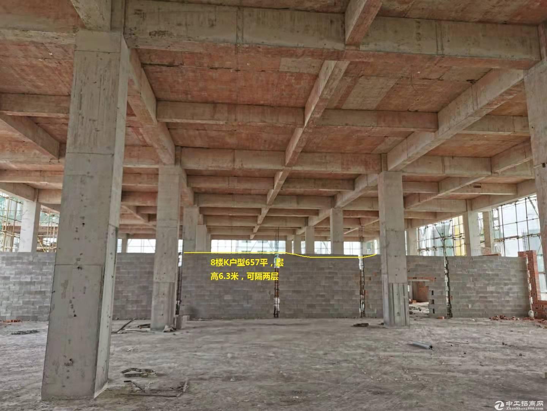 350到1600平厂房综合楼,可办公生产,门口50米地铁物业