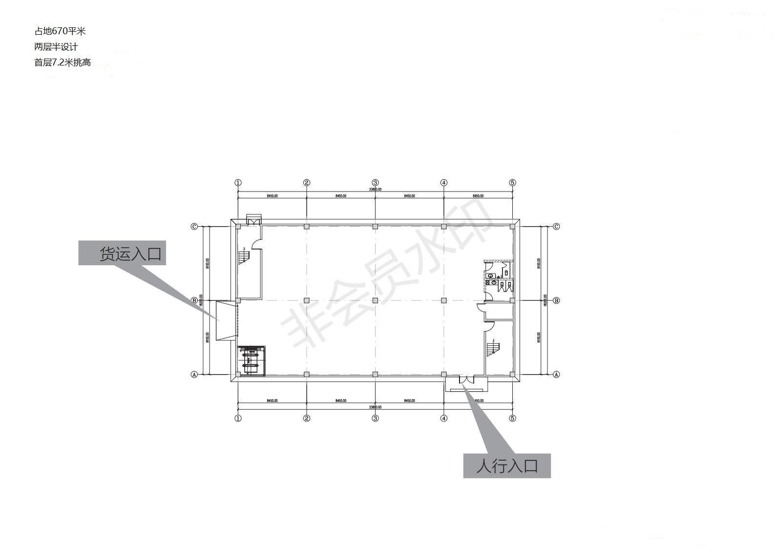 重庆巴南界石园区独栋厂房出售2层半设计首层挑高7.2米可夹层-图2