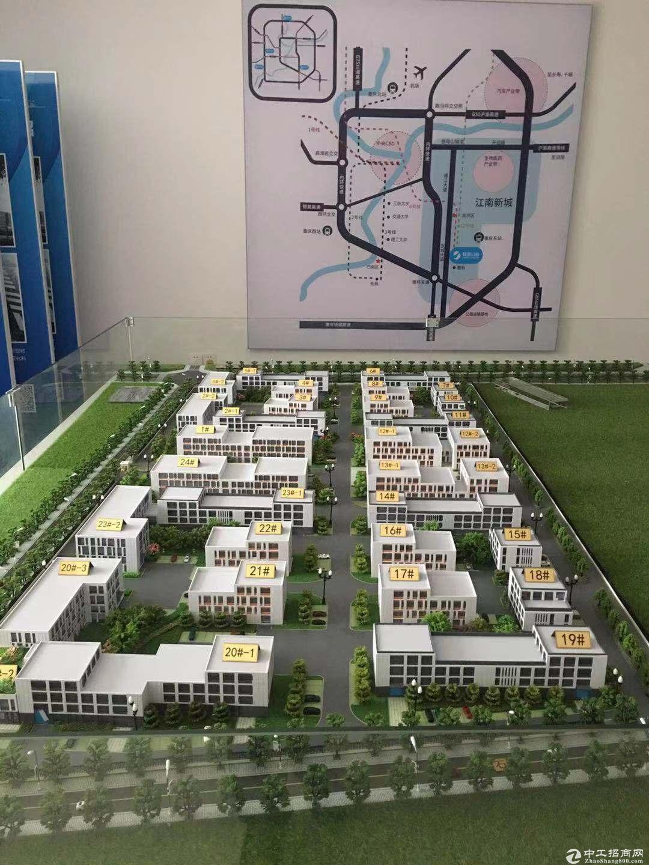 重庆巴南界石园区独栋厂房出售买一层送一层带花园-图3