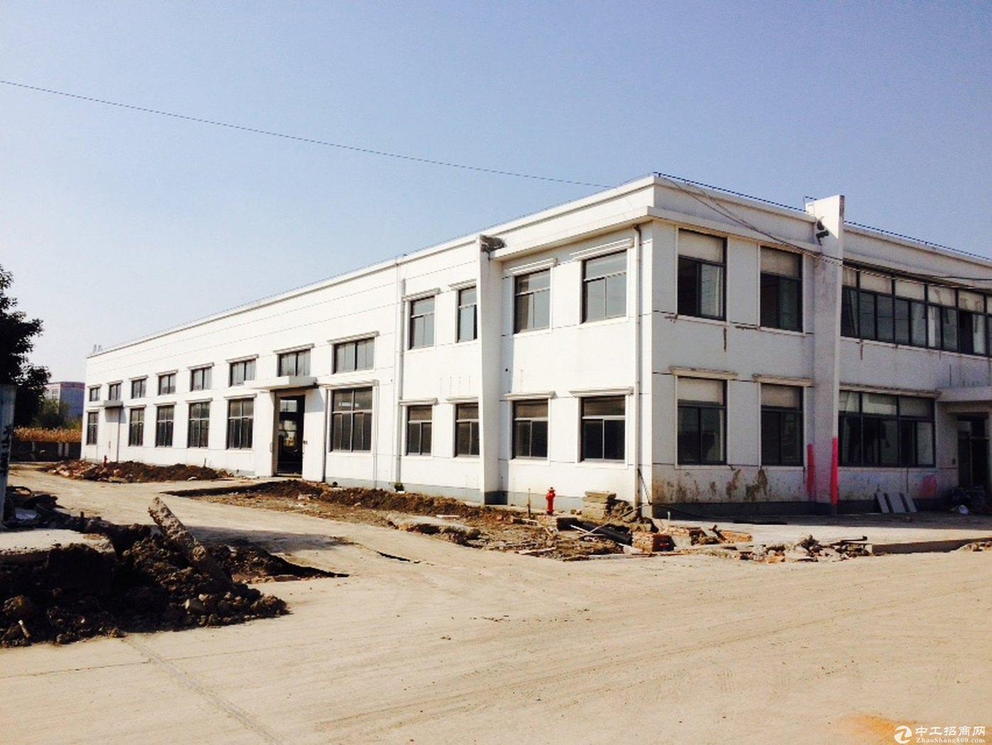 青浦独栋双层绿证104板块有排污,可环评工业厂房诚售