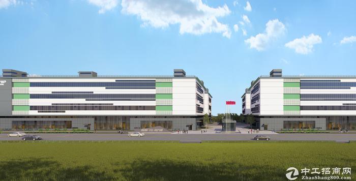 新建5.5万平米高标准厂房,开发商直租