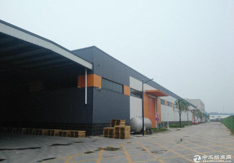 8650平钢构厂房 14米高可走航车 有产权可租可售