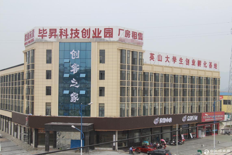 英山毕昇科技产业园,1500㎡标准出租,高6.4米