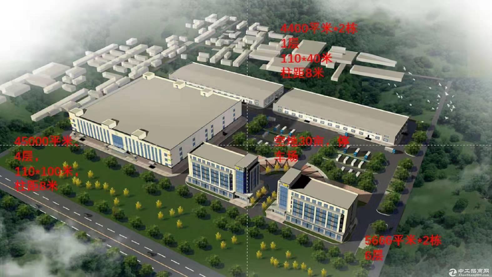 燕郊厂房出租1200平独栋可分割送屋顶花园-图4