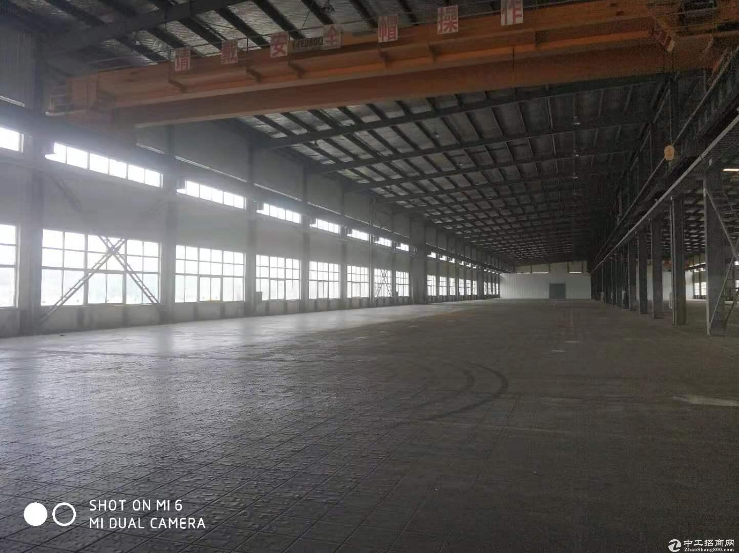合庆园区独栋6000平单层物流仓库出租