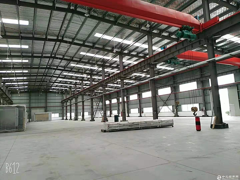 青浦大虹桥板块,新空出次新厂房+办公楼1.3万平米,随时看房