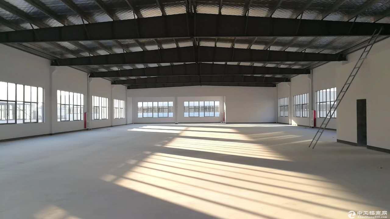 杭长高速煤山北高速出口1.8公里稀缺钢构厂房跟框架厂房