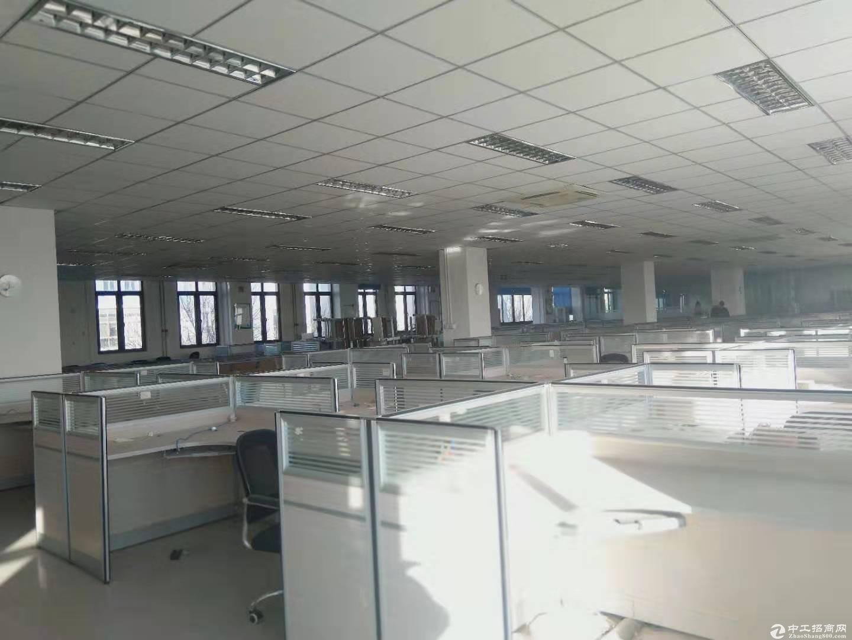 南六环通州马驹桥联东U谷3层大平层1200平米办公出租