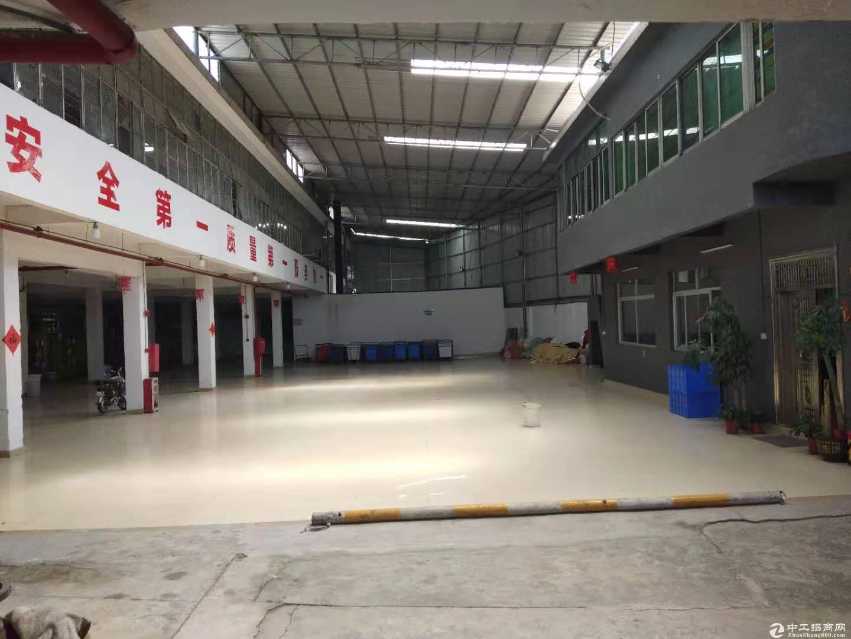 广州钟落潭竹料工业区可办环评大型带装修厂房手续齐全做仓库办公生产